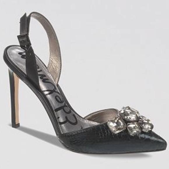 Sam Edelman Shoes - BNWT Sam Edelman pointed toe sling back heel